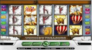 Viking's treasure slot