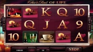 finer reels of life slot