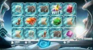 frozen diamons slot