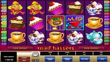 mad hatters slot