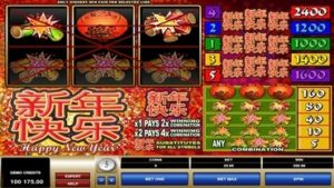 new year slot