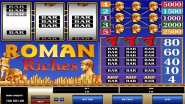roman riches slot