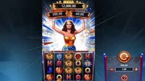 Wonder Woman Bullets and Bracelets Spelautomat