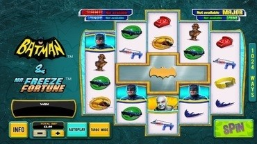 Batman and Mr Freeze Fortune Spelautomat