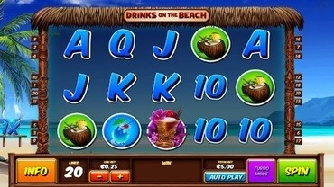 drinks on the beach slots
