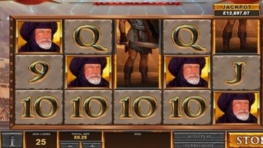 gladiators rome slot