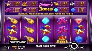 jokers jewels slots