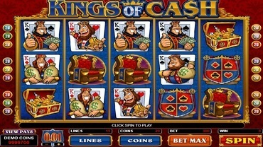 kings of cash slot