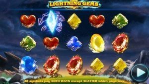 lighting gems slot