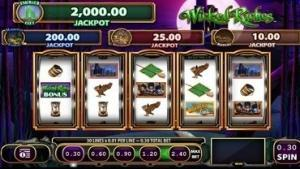 wicked riches oz slots