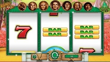 Wizard of Oz Road to Emerald City Spelautomat