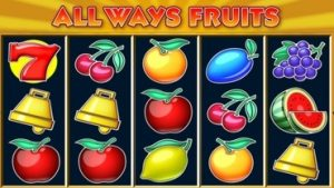 Allways Fruits Spelautomat