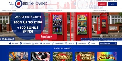 ▷ Spel på All British Online Casino
