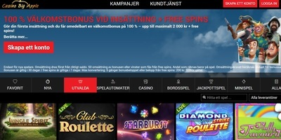 ▷ Big Apple Online Casino Sweden