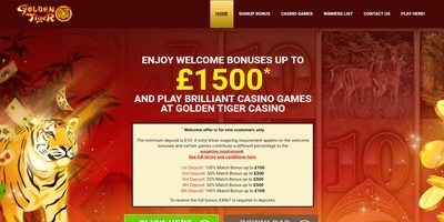 ▷ Spel på Golden Tiger Online Casino