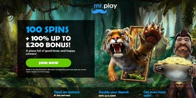 ▷ Spel på Mr. Play Online Casino