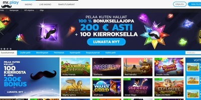 ▷ Mr. Play Online Casino Finland