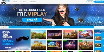 ▷ Mr. Play Online Casino Norway