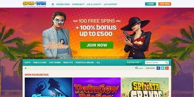 ▷ Spel på Spin and Win Online Casino