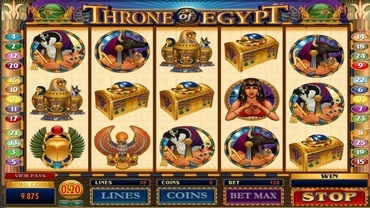 Throne of Egypt Spelautomat