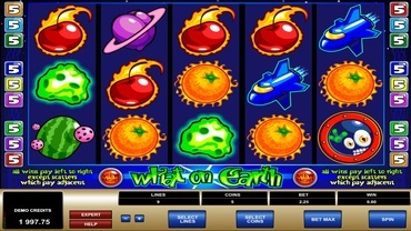 what on earth slot
