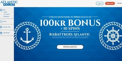 ▷ Atlantic Spins Online Casino
