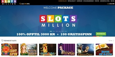 ▷ Spelautomater Million Online Casino Now!